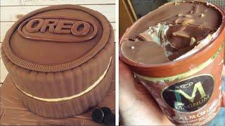 Perfect Chocolate Cake Decorating Ideas | So Yummy Chocolate Cake Recipes For Party