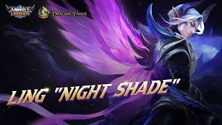 Mobile Legends: Bang Bang - 2020 Gameplay - Ling Night Shade Epic Skin Pro Gameplay