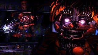 TRAPPED UNDERGROUND WITH SCRAP BABY!... || FNAF The Web of Cogs and Oil