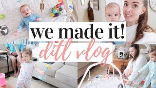FIRST VLOG AT MIMI'S! | DAY IN THE LIFE WITH A BABY AND A TODDLER 2020