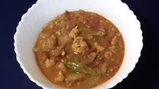 Cauliflower Bottle Gourd Stew/ Dinner Recipes / Veg Recipes/Vegan Recipes/Cauliflower Recipes E: 548