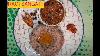 Ragi Sangati,  traditional food, ABC Samayal, ராகி களி செய்வது எப்படி with english subtitle, healthy