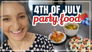 4TH OF JULY PARTY RECIPES // The Perfect BBQ Recipes + Summer Outdoor Party Food