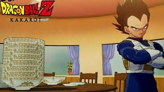 All Characters Eating Animations - Dragon Ball Z: Kakarot Full Course Menu Gameplay Walkthrough