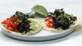 Hibiscus Flower Taco Meat