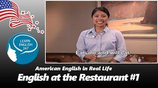 Learn English Conversation at the Restaurant | Hotel English Speaking #1