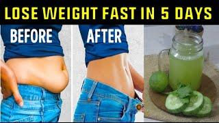 AMAZING DRINKS! HOW TO LOSE WEIGHT FAST WITH CUCUMBERS! NO STRICT DIET NO WORKOUT!