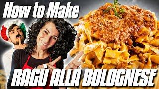 Ragu Alla Bolognese Recipe | How to Make Authentic Bolognese Sauce