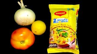Maggi Bhel Recipe - Instant 5 Minute Snack Noodles Recipe - How To Make Maggi Bhel- Lockdown Recipes