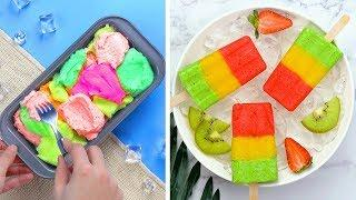18+ Yummy Popsicle Hacks Ideas For Fresh Summer | Best Perfect Ice Cream Recipes | So Tasty