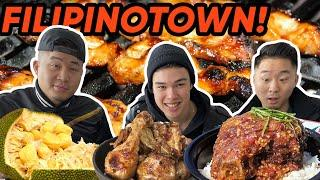 The ULTIMATE FILIPINO FOOD TOUR THROUGH LA! | Fung Bros