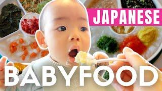 What Typical Japanese Baby Food is really like