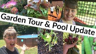Garden Tour & Pool Update
