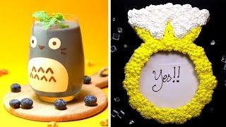Easy & Fun Dessert Recipes | Awesome DIY Homemade Cake Decorating Ideas for A Weekend Party