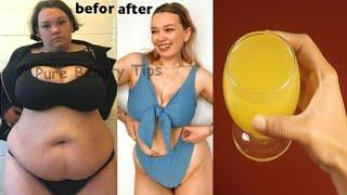 Drink a cup of this magic drink for 7 days and your belly fat will melt completely