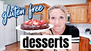 EASY GLUTEN FREE DESSERTS | COOK WITH ME | FRUGAL FIT MOM