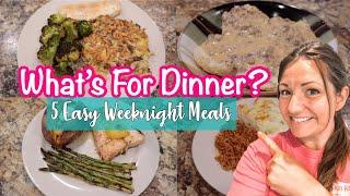 *NEW* WHAT'S FOR DINNER | ONE WEEK OF DELICIOUS MEALS | BUDGET MEAL IDEAS | COOK WITH ME