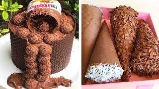 Homemade Chocolate Cake With Milk Cream Recipes | FUN And Easy Cake Recipes By So Yummy