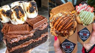 Satisfying Chocolate Cake Compilation | So Yummy Desserts Chocolate Ice Cream