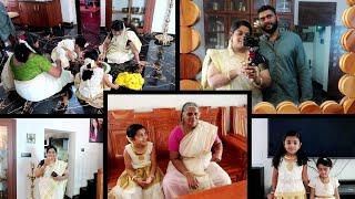 Onam Vlog 2020 - Getting Ready for Onam - Onam Dress - Onam Pookolam - Yummy Tummy Onam Vlog