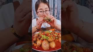 #Shots Video Seafood mukbang ASMR | Asian Food ASMR | ASMR  Show Eating by #VshareKH #174