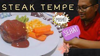 RESEP STEAK TEMPE EKONOMIS MENU DIET