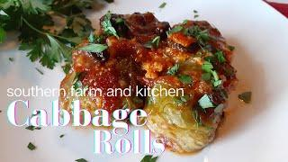 What's For Dinner? / Cabbage Rolls / Southern Sunday Supper Ideas/ Recipes/ Dinner Ideas