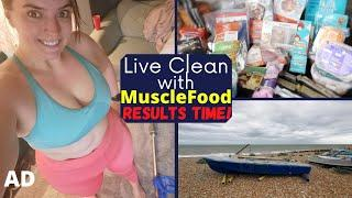 Final Week with MuscleFood #4 & My Thoughts, Results and Favorites | KrispySmore AD