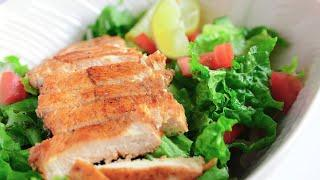 Healthy Chicken Salad Lunch Idea I Weight Loss Meal