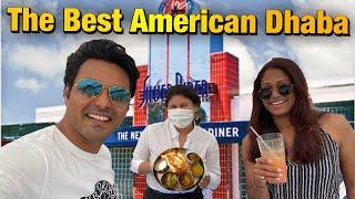 The Best American Dhaba  | American Diner | American Food | Indian Vlogger | Hindi Vlog