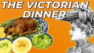 A Very Victorian Dinner | A Cook Back In Time | Absolute History