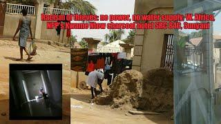 1st March 2020, charcoal hotel of NPP SRC 84C: no power/no water supply