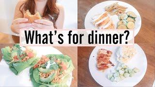 what's for dinner? | easy dinner meal ideas | simple dinner meals | family friendly meals