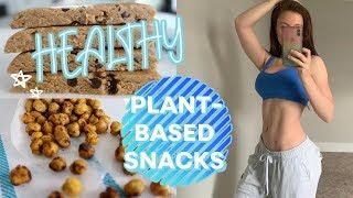 HEALTHY SNACK IDEAS | plant-based, high protein, & meal prep