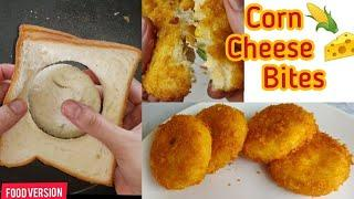 Corn #Cheese Bites #Bread cheese by Food Version Quick & Easy recipe Evening snack #trending #viral