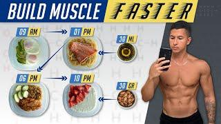 The Best Meal Plan To Build Muscle FASTER (EAT LIKE THIS!)