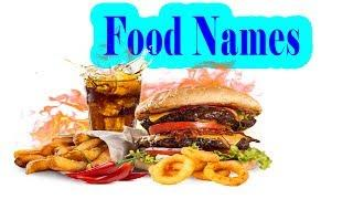 Food Names - English Study Nouns