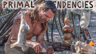 Primitive Rabbit Soup Lunch and Preserving the Skin (episode 06)