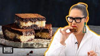 The new snack I can't stop eating | Bounty Bar Brownies | Marion's Kitchen