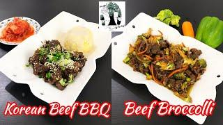 "KOREAN BEEF BBQ | BEEF BROCCOLI ""KOREAN BBQ STYLE"" 