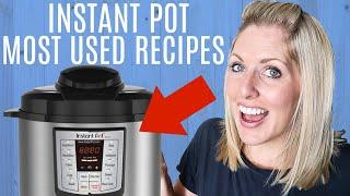 6 Things to Make in Your Instant Pot Every Week - Perfect for Beginners