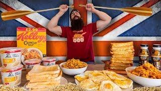 THE OLYMPIC GB ROWING TEAM DAILY DIET CHALLENGE | 9,000 CALORIES | BeardMeatsFood