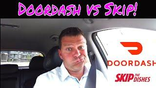 DOORDASH VS SKIP THE DISHES - Who Won?  Uber Eats is no where in sight!