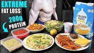 1800 Calorie Full Day of Eating to lose fat *FAST* | High Protein Low Calorie Muscle Building Diet