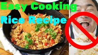 Rice Recipe.Fried Rice Recipe.Easy Cooking Rice Recipe.Tasty Chinese Food.Receta de arroz frito