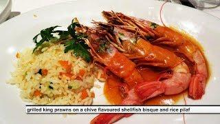 MSC SEAVIEW  DINNER -  all dishes -  english subtitles