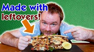 EPIC Quesadilla made with LEFTOVER roast pork | leftover recipes for pork