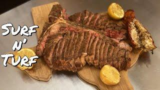 Surf n' Turf on my Traeger Ironwood 650 | EPIC Father's Day Meal | Gulf Coast Smoke
