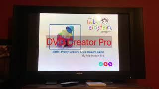 Baby's Favorite Places (Chepstow) 2007 DVD Menu WalkThrough