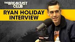 "Author Ryan Holiday Talks About Why ""Stillness Is The Key"" In His New Book"